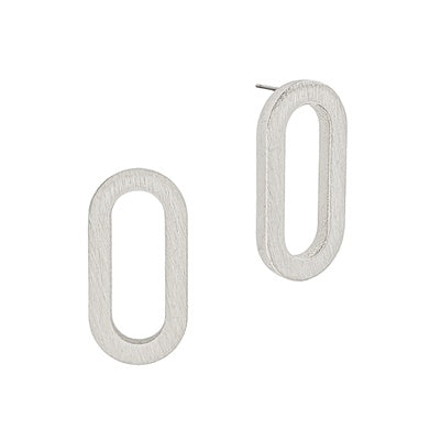Rounded Edges Earrings