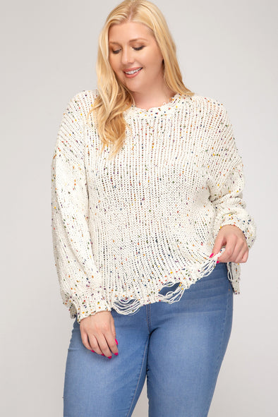 In the Know Sweater - Plus Size
