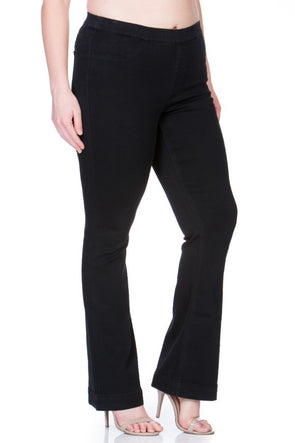 My Love Flare Jeans - Black/Plus