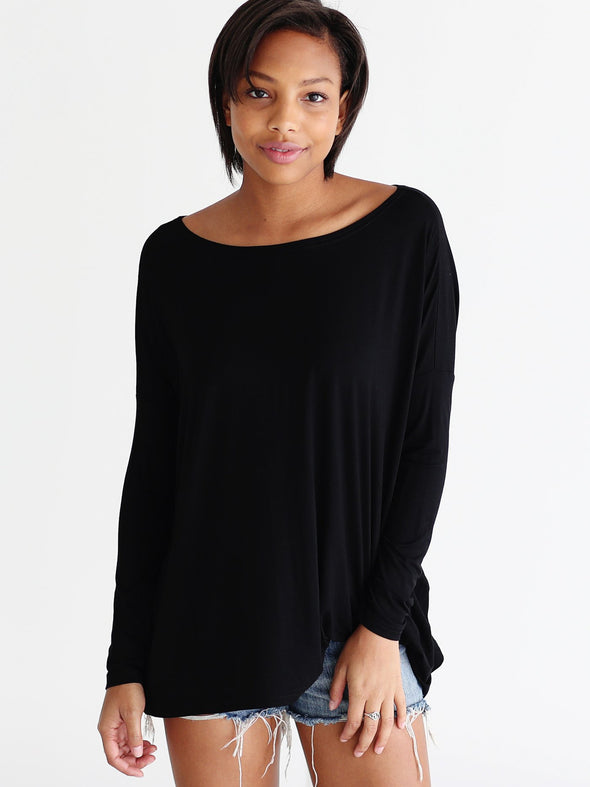 Close to Perfect Piko Top - Black