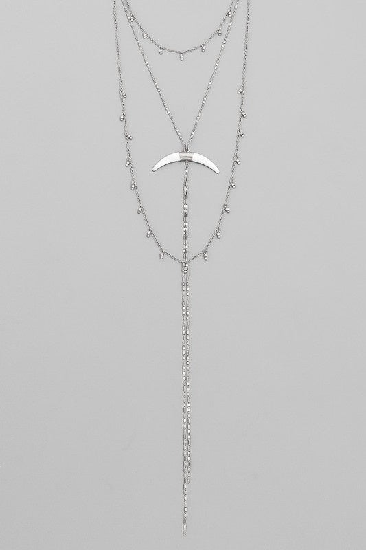 In the Wilderness Necklace - Silver