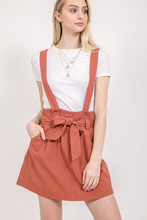 Dreaming Away Overall Skirt
