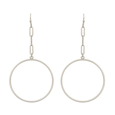 Linked Up Hoop Earrings