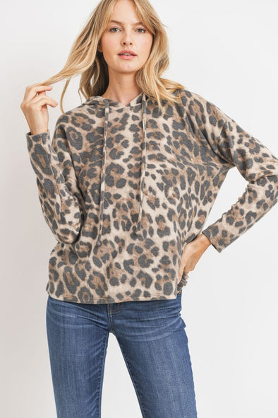 Right On Target Leopard Top