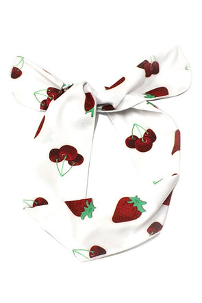 Berry Print Wire Headband