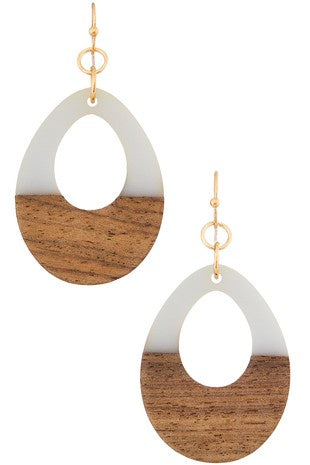 Here We Go Teardrop Earrings