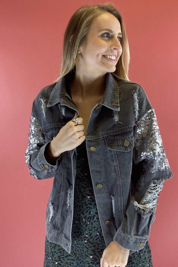 Written In the Stars Denim Jacket