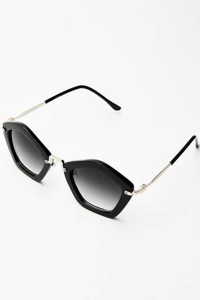 Pentagon Shape Sunglasses