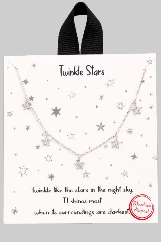 Starry Nights Necklace - Multiple Colors