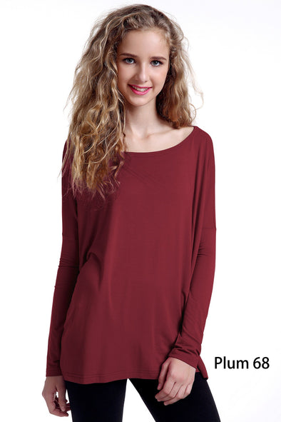 Close to Perfect Piko Top - Plum