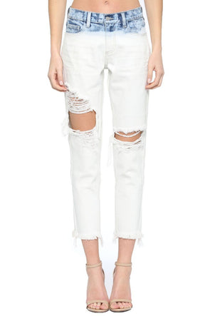 Living On The Edge Boyfriend Jeans