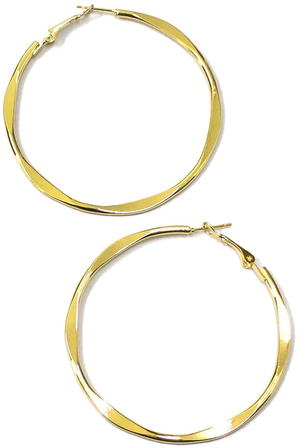 Here & There Hoops - Multiple Colors