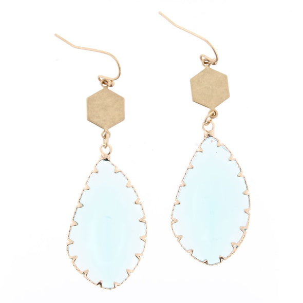 Luminous Earring Collection - Crystal Teardrop