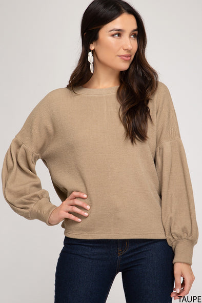 What I Wanted Top - Taupe