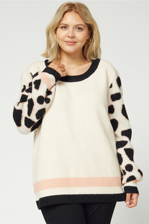 Spots Over You Sweater