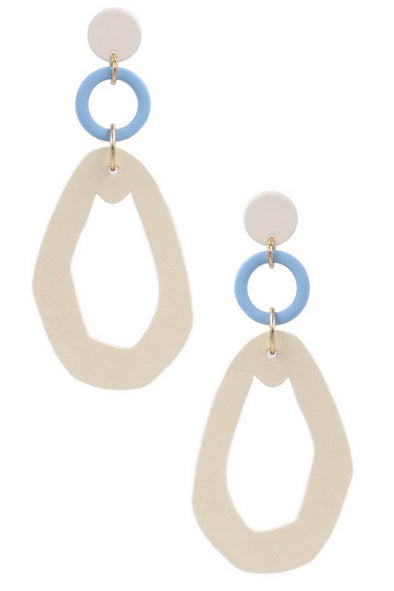 Look Ahead Drop Earrings