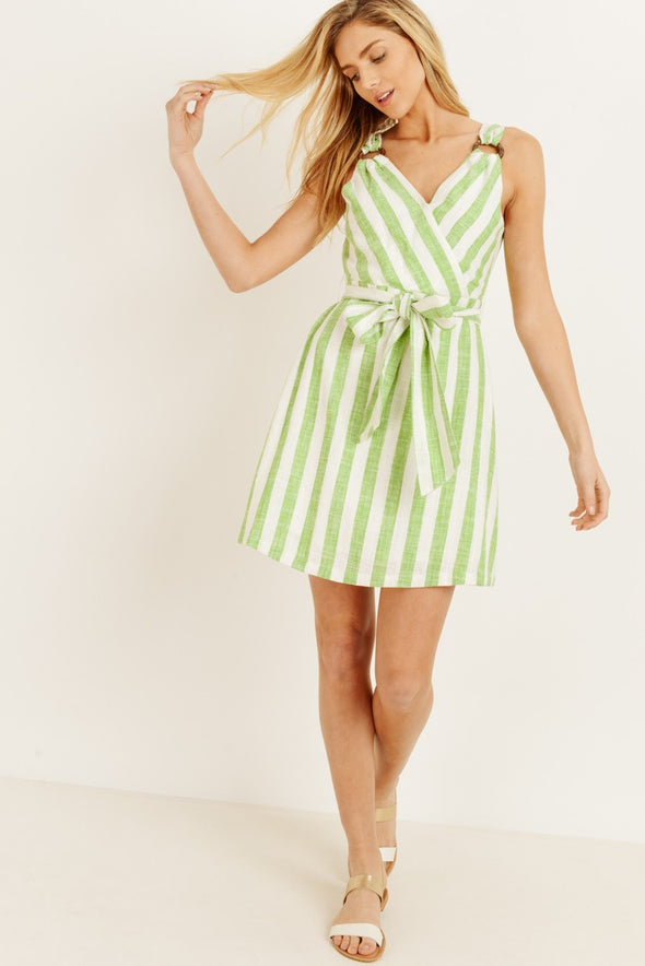 Take Me to the Water Striped Dress