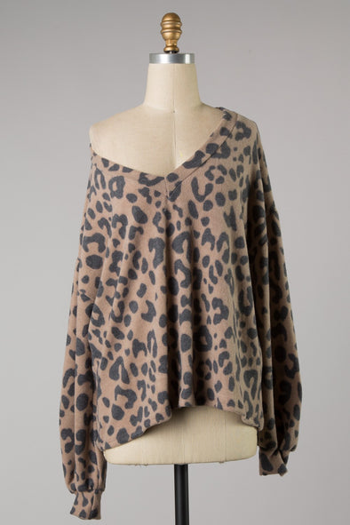 Bring To Me Leopard Top