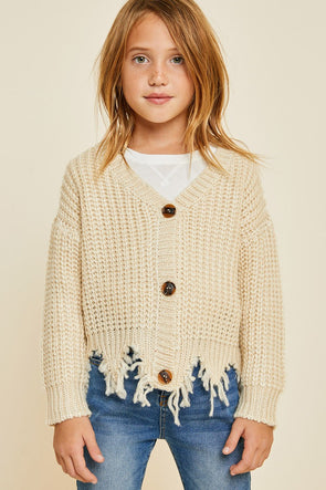 Cozy Up Cardigan - Tween