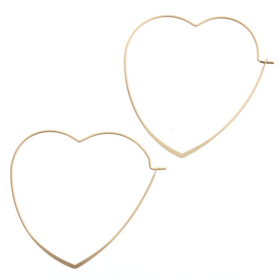 Luminous Earring Collection - Gold Heart