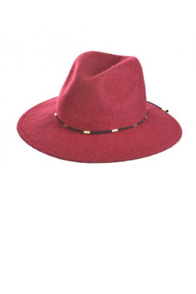 Around Town Wool Hat - Red