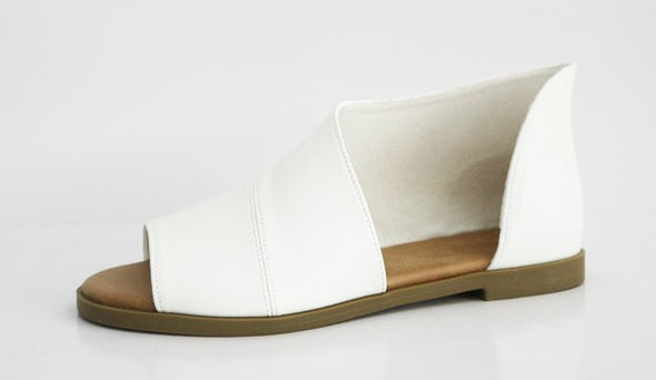 Hippie White Sandal