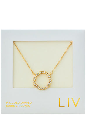 Every Heart Circle Necklace