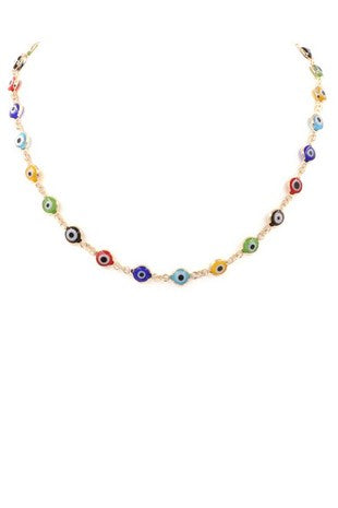 Around It Evil Eye Necklace