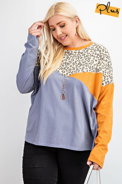 Wild Days Top - Plus Size