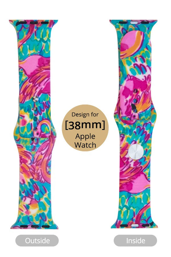 Flamingo Apple Watch Band