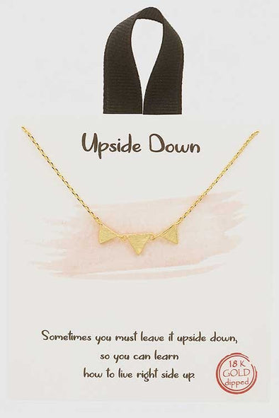 Upside Down Necklace