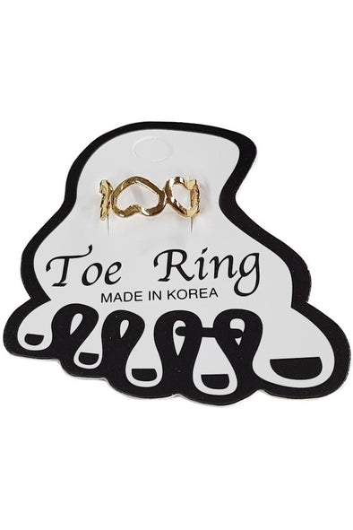 Heart Toe Ring