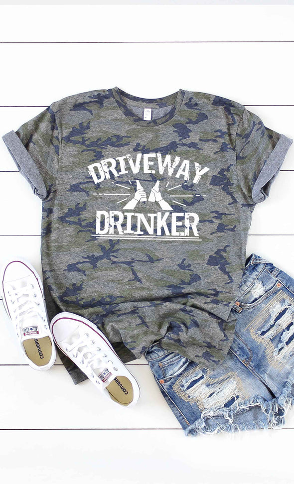 Driveway Drinker Graphic Tee
