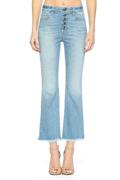 Meant for Me Cropped Flare Jeans