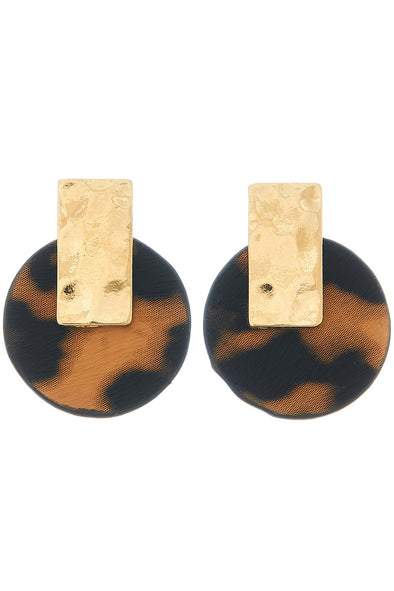 Stand Out Leopard Earrings