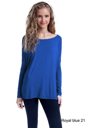 Close to Perfect Piko Top - Royal Blue
