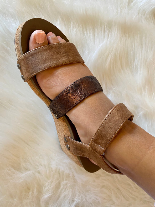 Cona Wedge Sandal