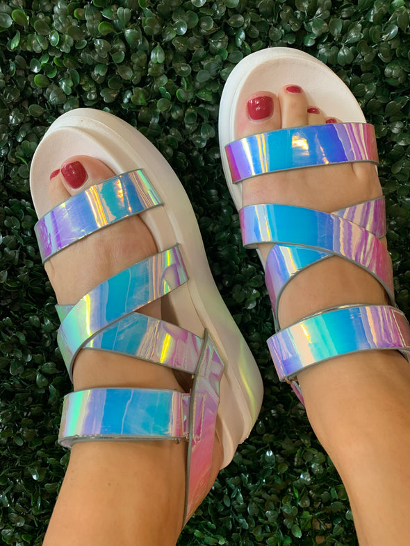 Riddle Sandals