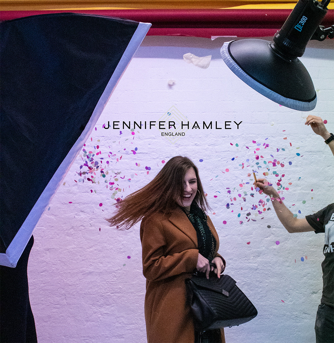 Behind the scenes of the latest Jennifer Hamley Photoshoot