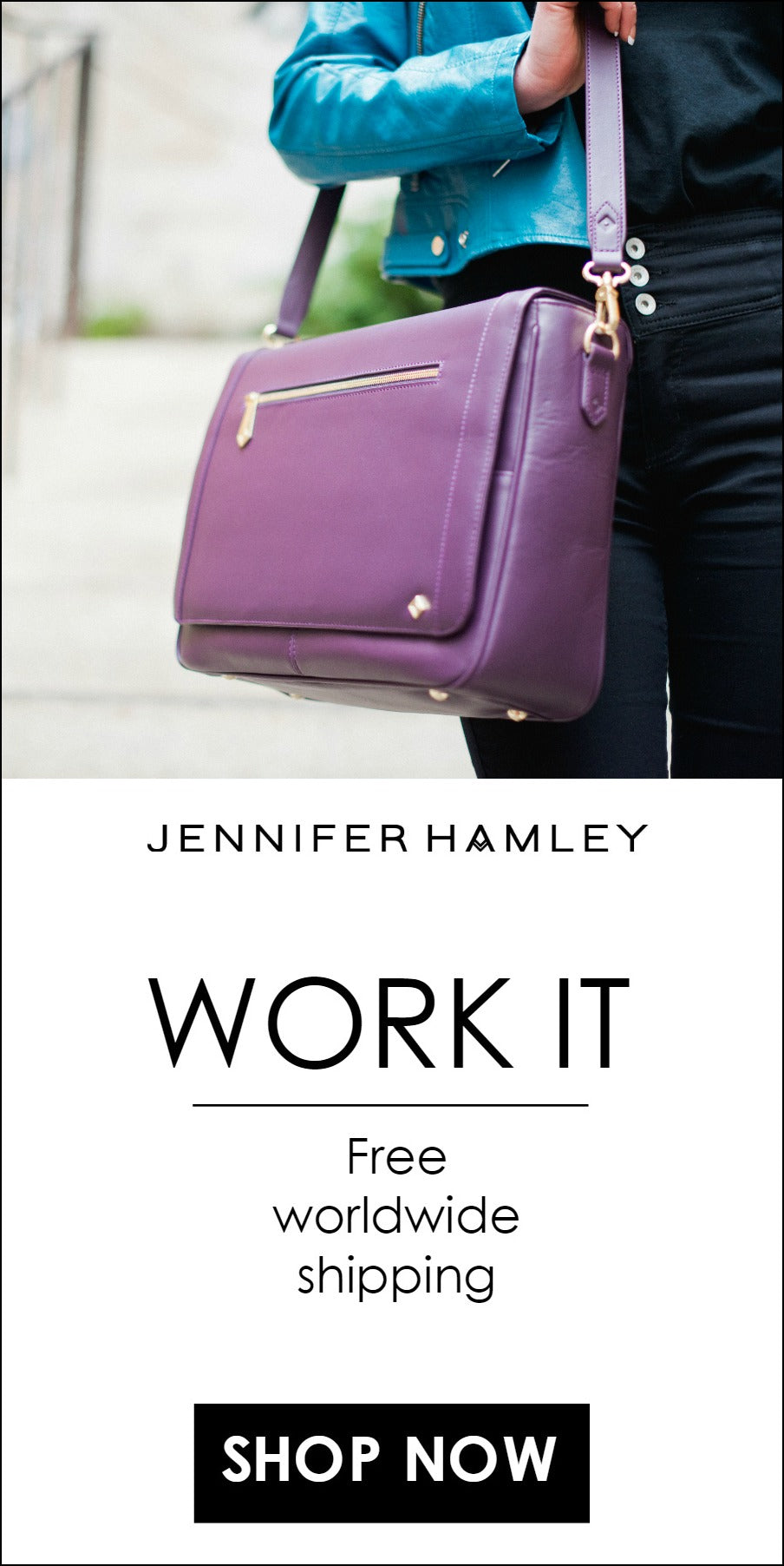 stand out from the work crowd - jennifer hamley bags