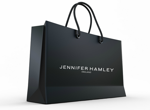jennifer hamley england retailer shopping bag boutique