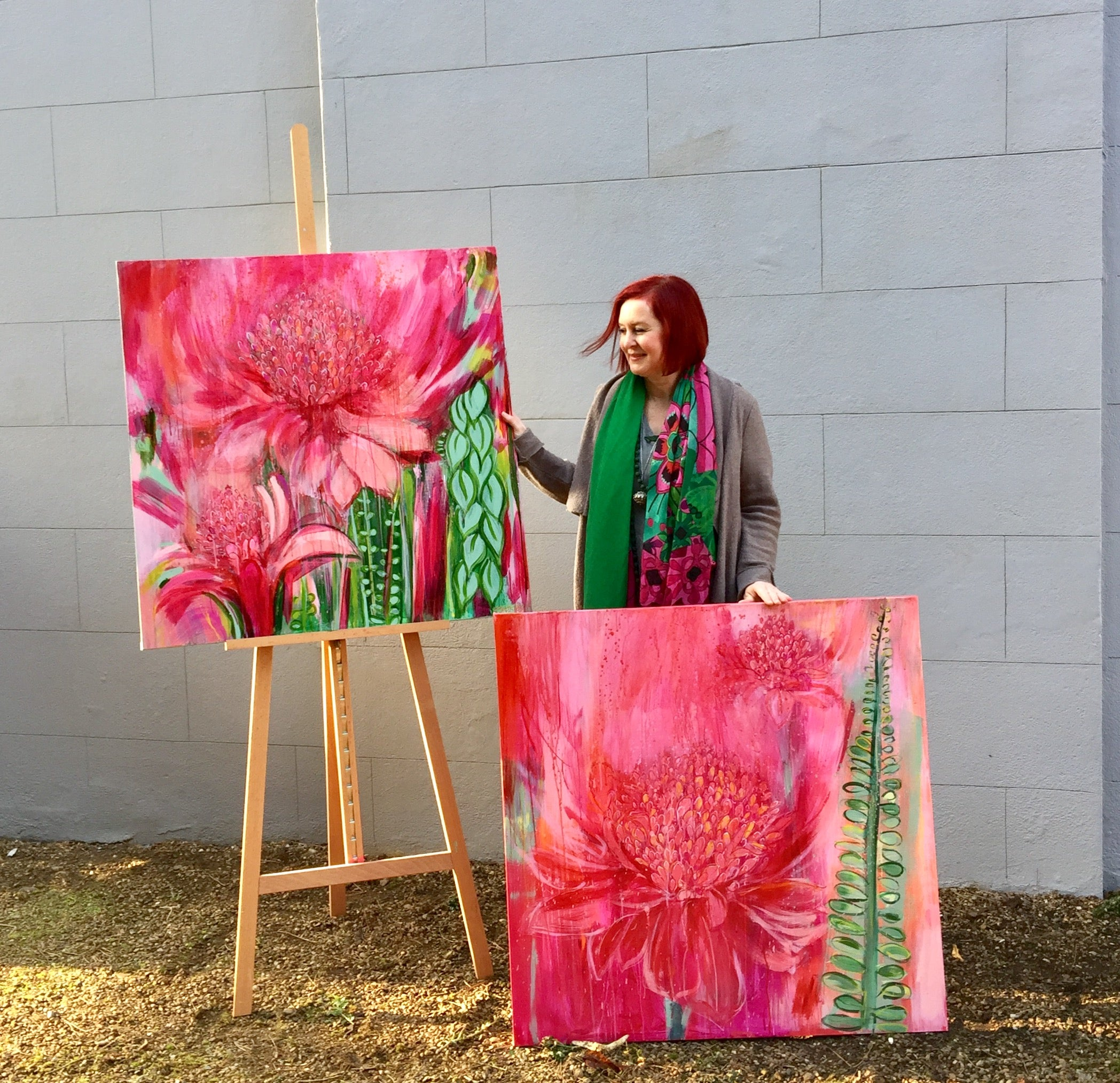 magenta-gingerlily-paintings-portrait