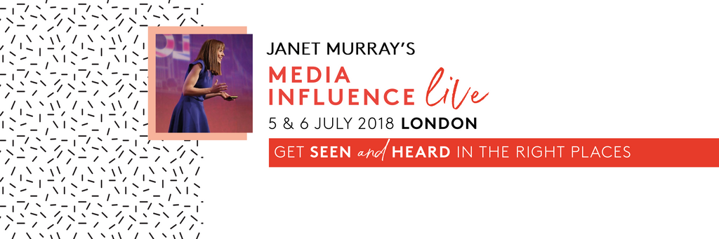 Jennifer Hamley is going to Media INfluence live with Janet Murray Souldful PR