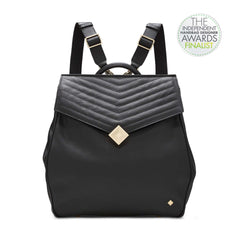 Jennifer Hamley England convertible leather girlboss backpack 2017 independent handbag designer awards finalist