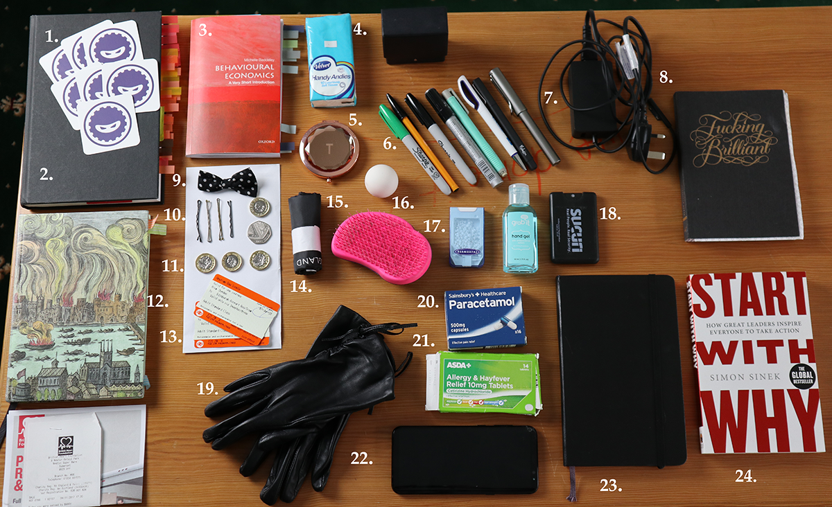 What's in your handbag, Kenda Macdonald?