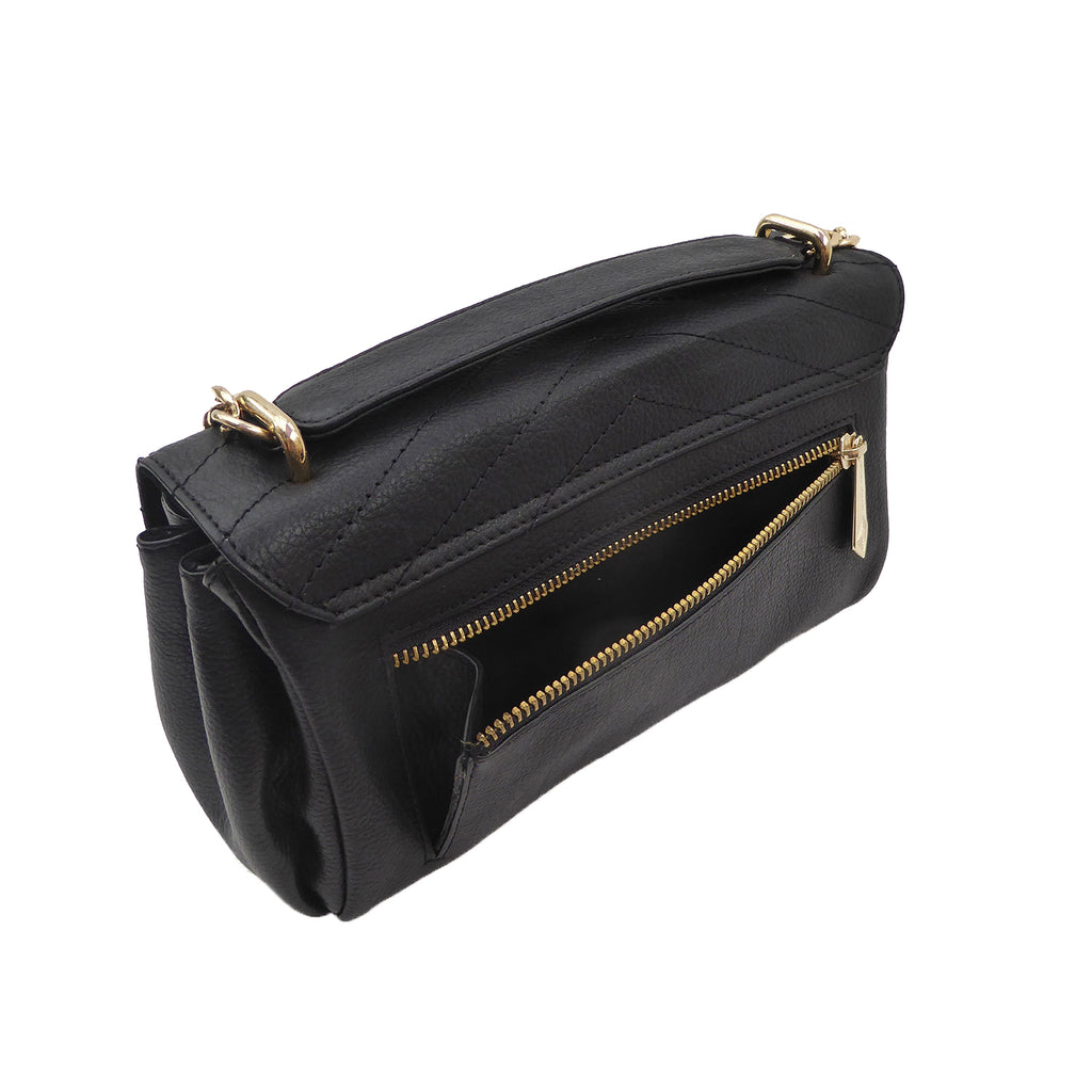 Mischief Evening Bag - SALE - Jennifer Hamley luxury leather handbags and laptop bag for working women