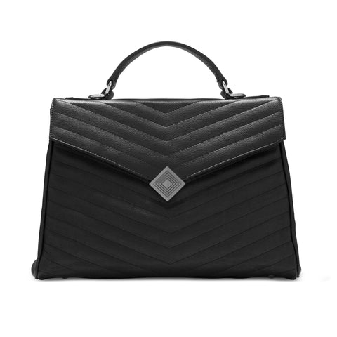 SLIGHT SECONDS Lilian Grande Convertible Handbag/Backpack | vegan - SALE - 60% OFF - Jennifer Hamley luxury leather handbags and laptop bag for working women