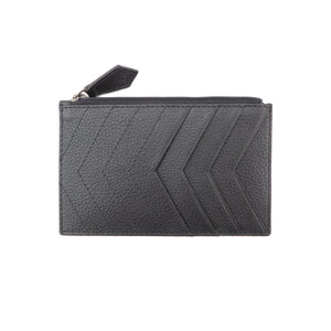 Chevrons Forever Cardholder - SALE - Jennifer Hamley luxury leather handbags and laptop bag for working women