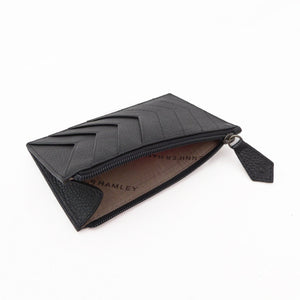 Chevrons Forever Cardholder | vegan - SALE - Jennifer Hamley luxury leather handbags and laptop bag for working women