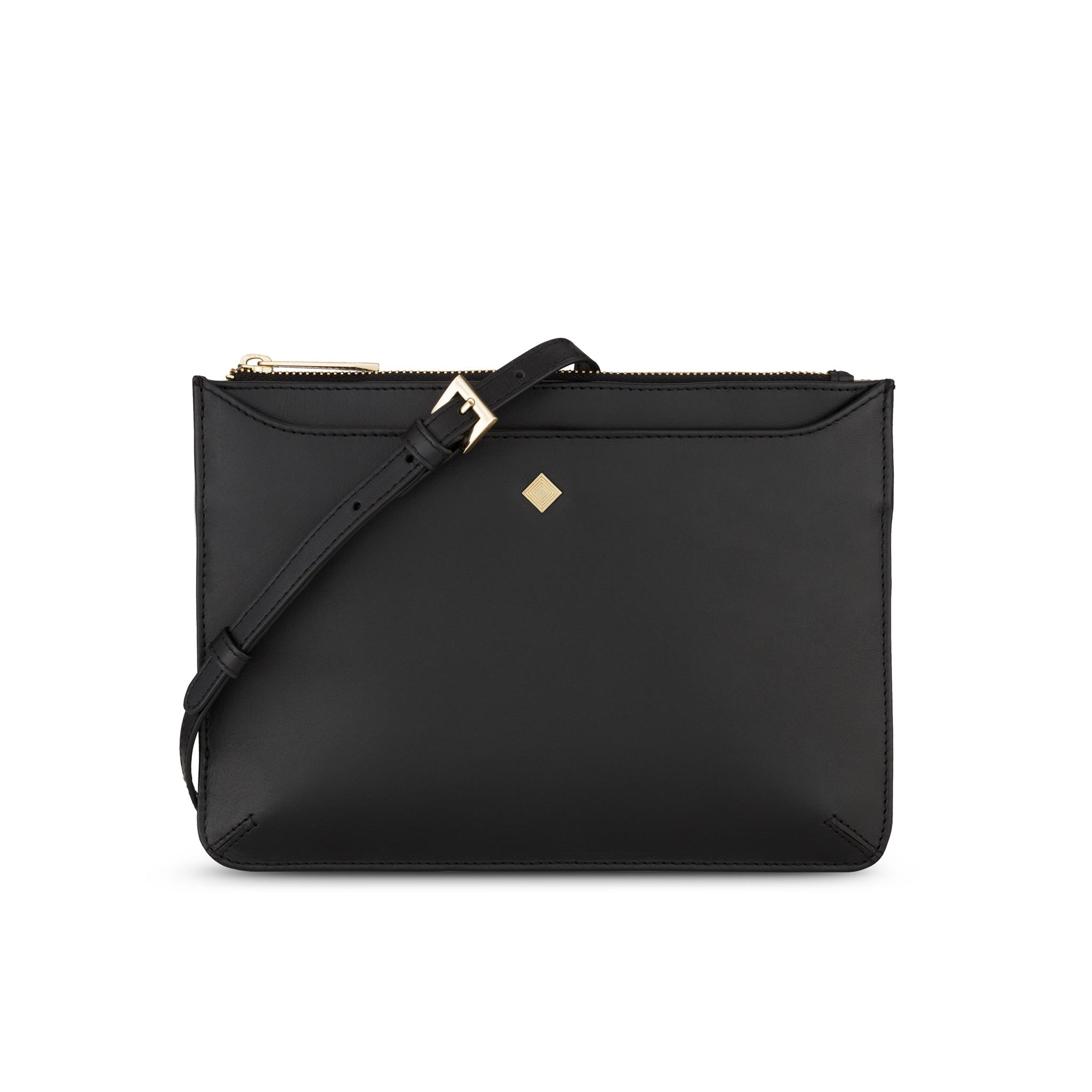 Maxi Sakura Pouch - Jennifer Hamley luxury leather handbags and laptop bag for working women